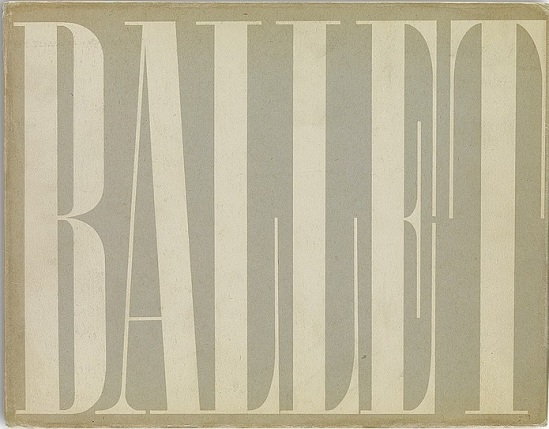Alexey Brodovitch Ballet ed J.J. Augustin Publisher, 1945