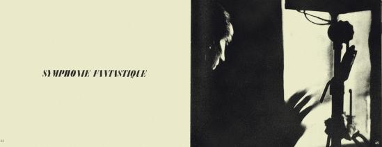 Alexey Brodovitch Ballet la symphonie Fantastique ed J.J. Augustin Publisher, 1945
