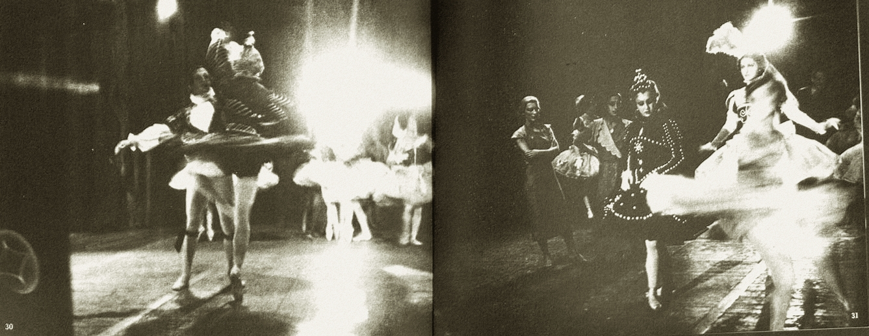 Alexey Brodovitch Ballet Les cent Baisers 1935-37ed J.J. Augustin Publisher, 1945.