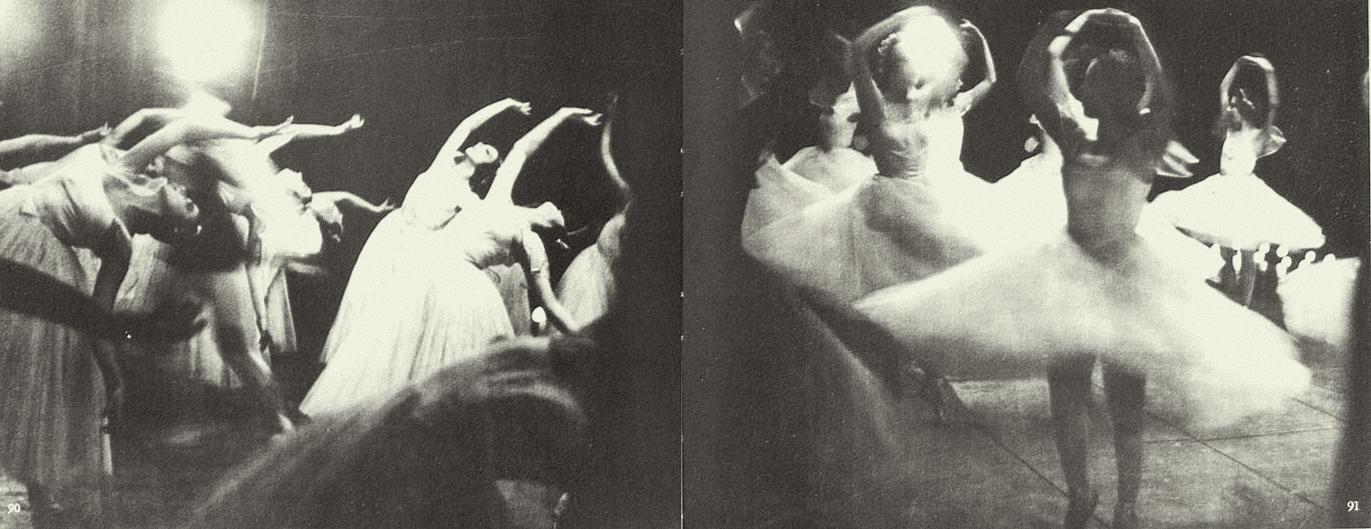 Alexey Brodovitch- Ballet Les Sylphides, 1935-1937. from Ballet ed J.J. Augustin Publisher, 1945