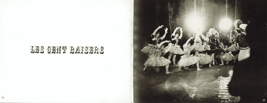 Alexey Brodovitch Ballet Les cent Baisers 1935-37 . from Ballet ed J.J. Augustin Publisher, 1945
