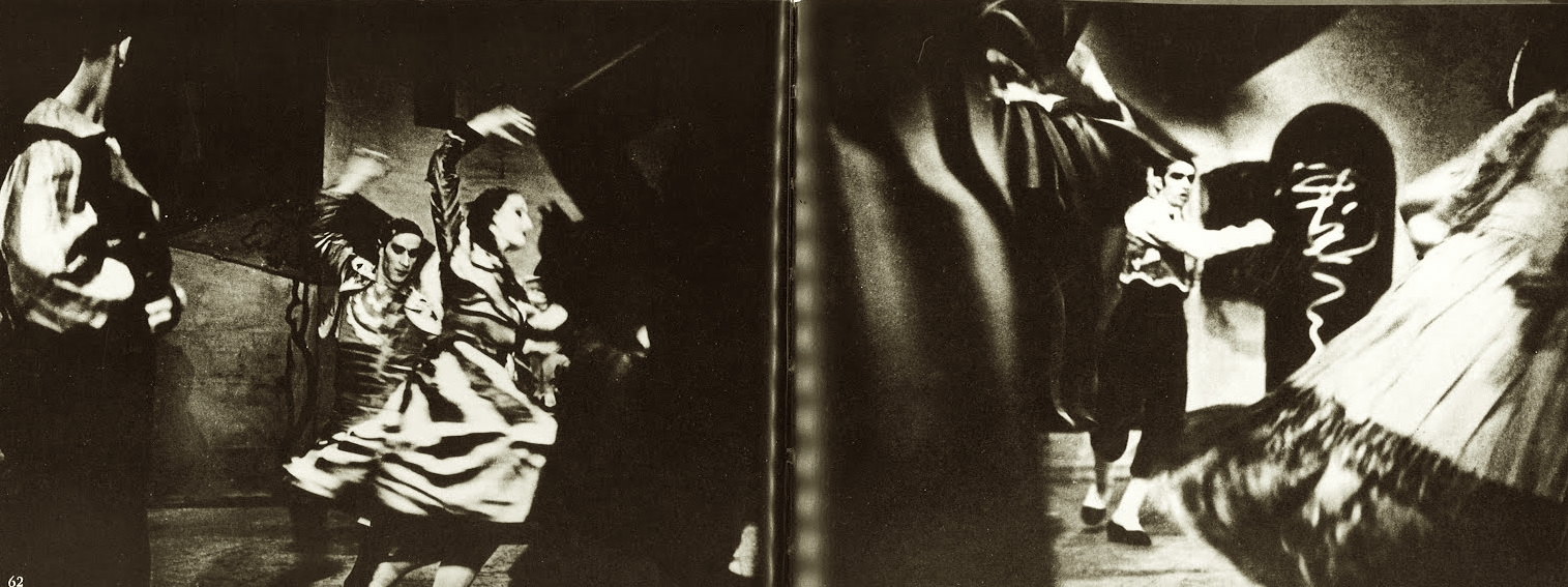 Alexey Brodovitch Le tricorne Ballet 1935-37 . from Ballet ed J.J. Augustin Publisher, 1945