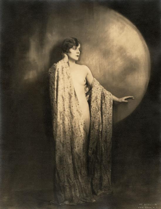 Baron De Mirjian - Nude with Long Shawl, 1920s