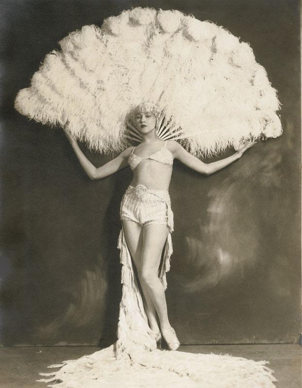 Baron De Mirjian - Woman with Feather Costume, 1920