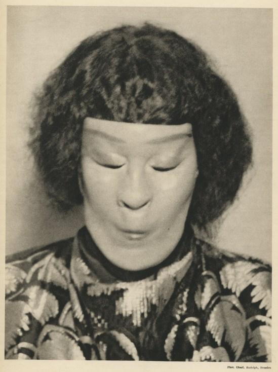 Charlotte  Rudolph-Mary Wigman  Danse de sorcière .Hexentanz, 1914