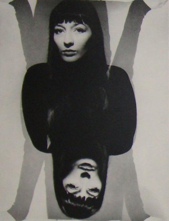 Erwin Blumendeld- Portraitt of Juliette Greco, 1951
