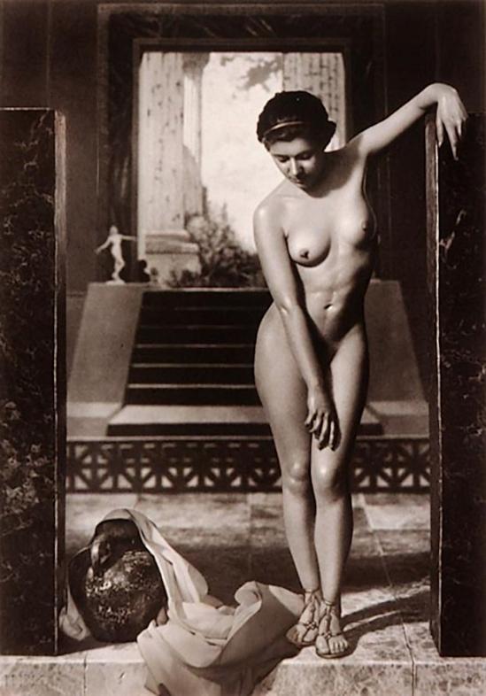 Harold F. Kells- Roman Bather 1933