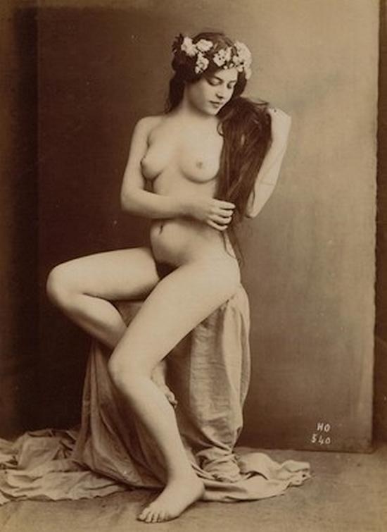 Henri Oltramare- Etude de nu, 1900