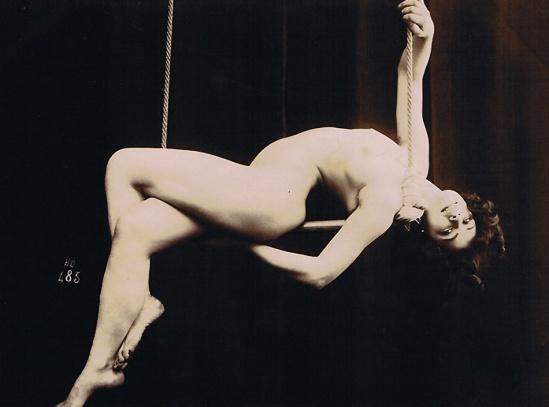 Henri Oltramare Nu à la balançoire 1900