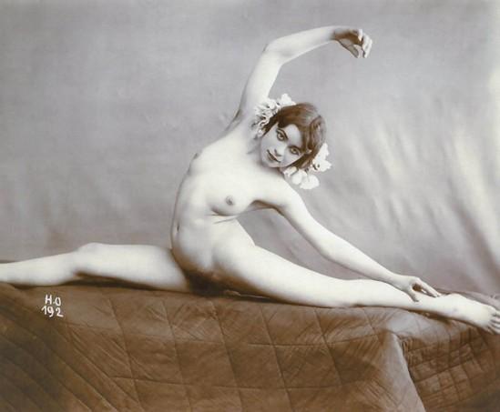 Henri Oltramare - Etude de nu,1900