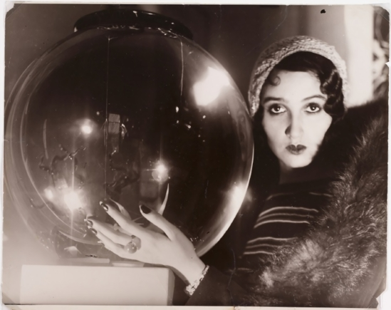 Jacques-Henri Lartigue – The Crystal Ball, ( Rénée perle) 1931