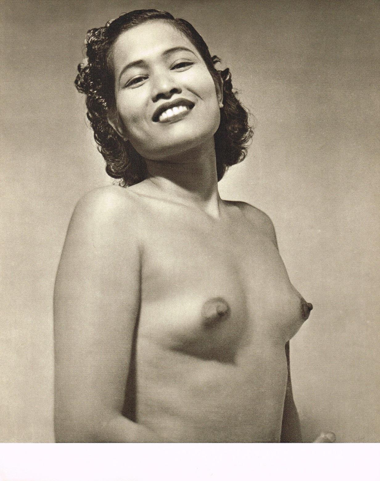 John Everard- Asian Female semi Nude photogravure 1950Oriental Model Published by Robert Hale Ltd., London in 1955. 4