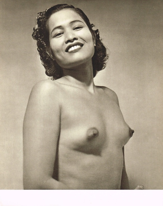 John Everard- Asian Female semi Nude photogravure 1950Oriental Model Published by Robert Hale Ltd., London in 1955. 4