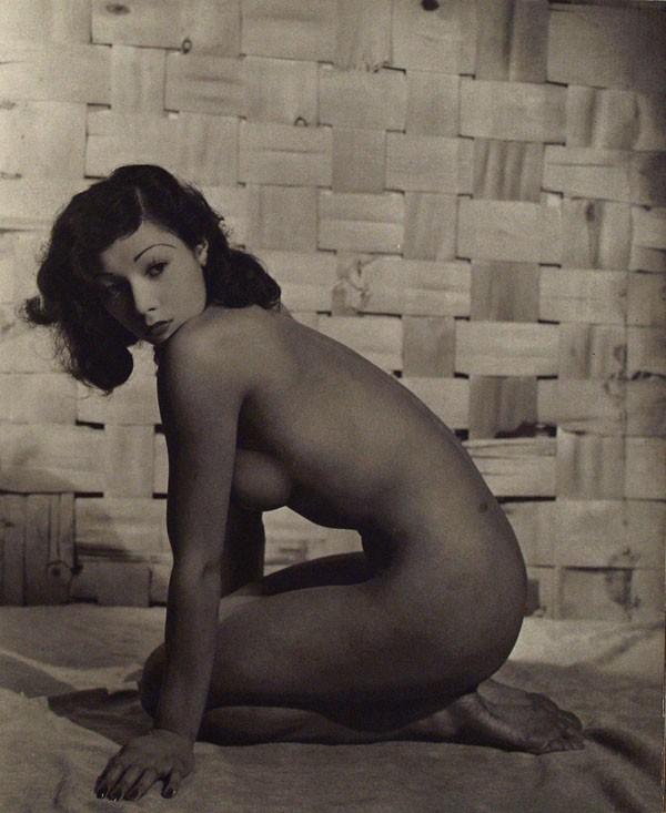 John Everard. Japanese kneeling Nude, 1950Oriental Model Published by Robert Hale Ltd., London in 1955.1