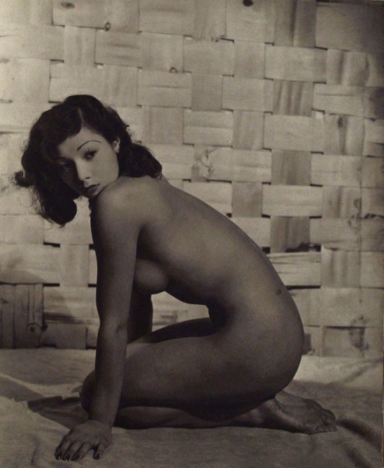 John Everard. Japanese kneeling Nude, 1950Oriental Model Published by Robert Hale Ltd., London in 1955.1
