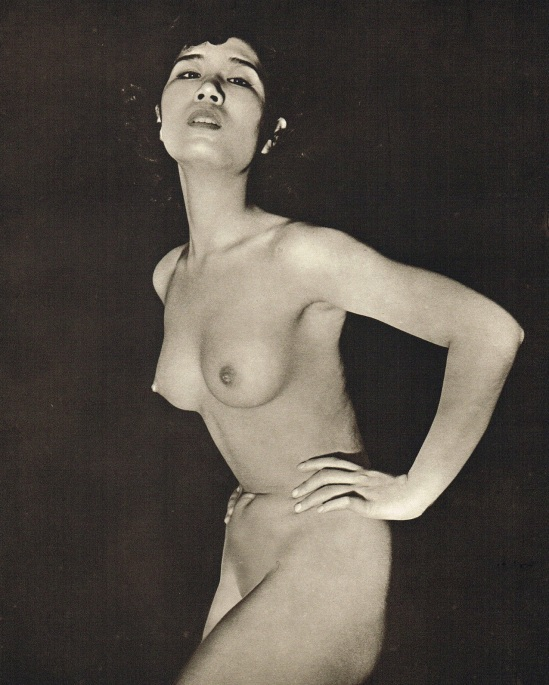 John Everard- Japanese Nude photogravure 1950Oriental Model Published by Robert Hale Ltd., London in 1955.