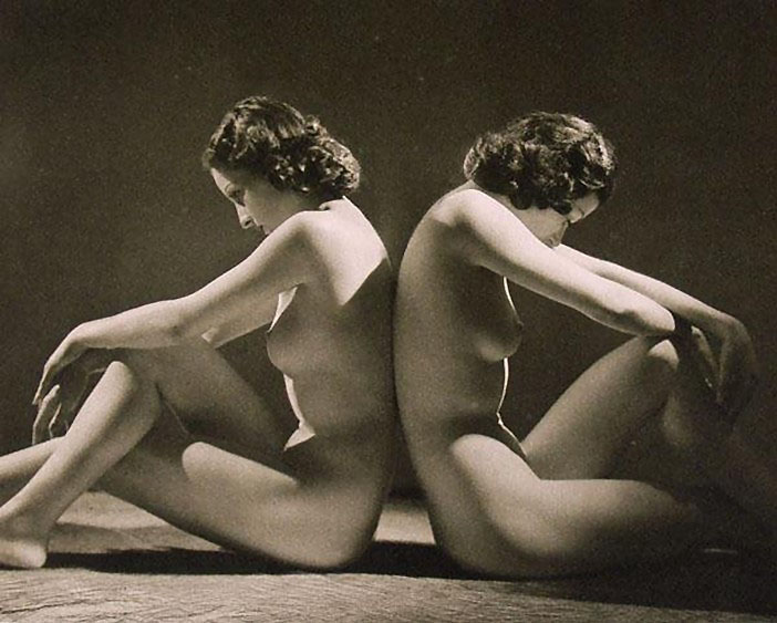 John Everard. Nude No. 24.1941 , From My Hundred Best Studies, Ed Bodley Head, 1954