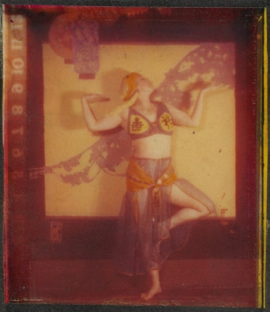 Karl F. Struss -  A Costumed Dancer,  1917