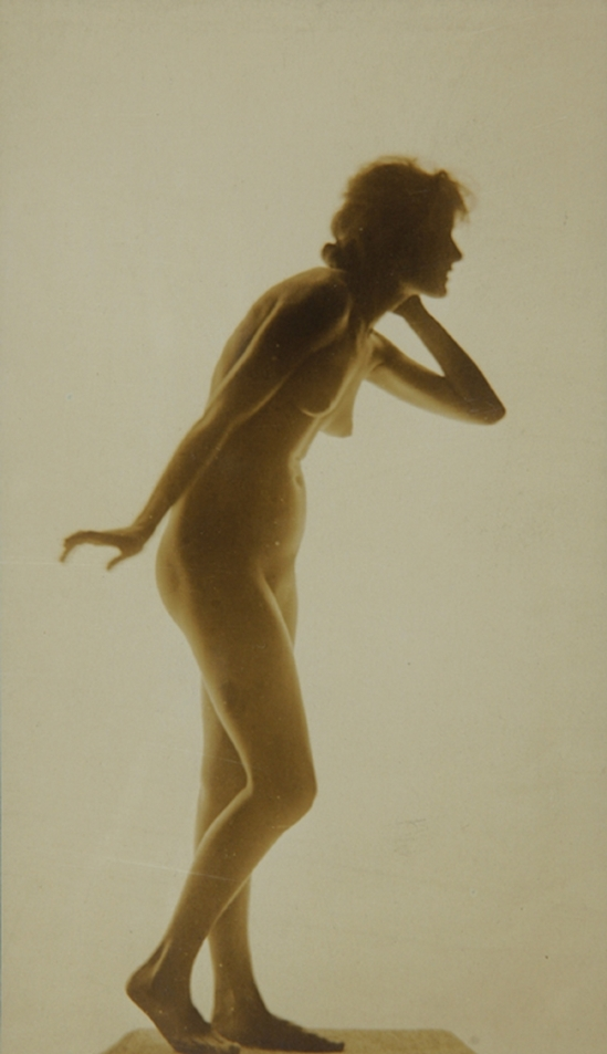 Karl F. Struss - Female Figure, First Series #9,  1915. From the Series, The Female Figure , 1917 published in Karl Struss. From 48 photographs of the female