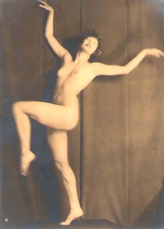 From the Series, The Female Figure , 1917 published in Karl Struss. From 48 photographs of the female