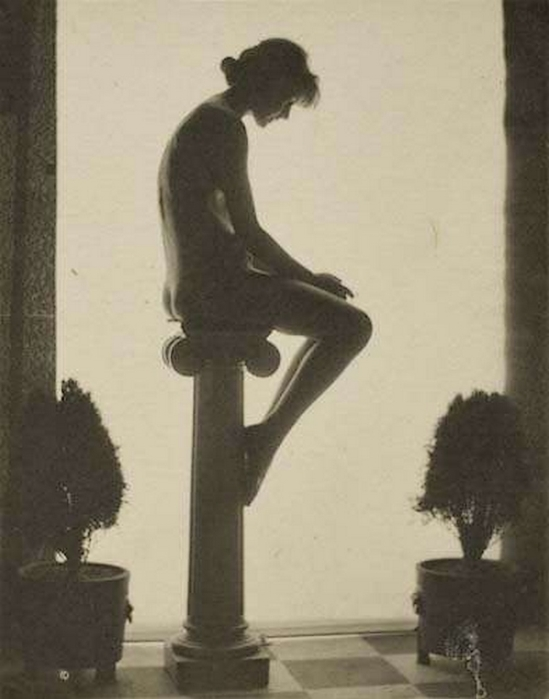 Karl F. Struss- Untitled,  , 1915  From the Series, The Female Figure, 1917  published in 48 photographs of the female