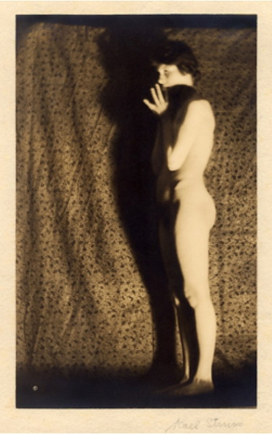 Karl Struss-Untitled,  From the Series, The Female Figure , 1917