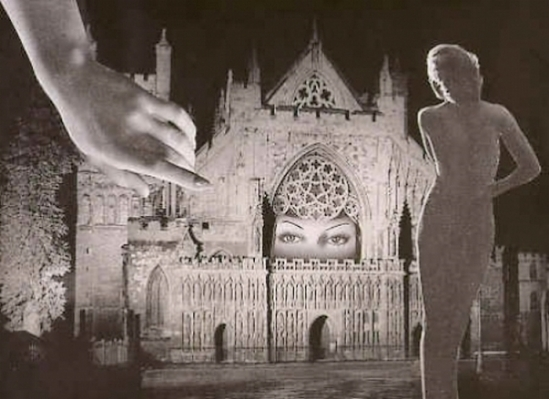 Marcel G. Lefrancq - Collage, from Les onze mois de la bonne année 1939 - 1945
