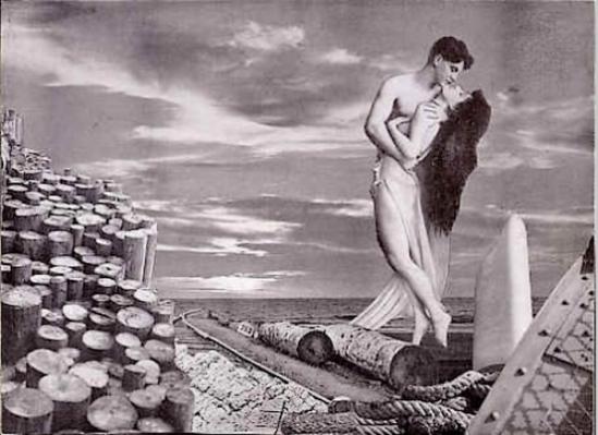 Marcel G. Lefrancq - Collage,from Les onze mois de la bonne année 1939 - 1945