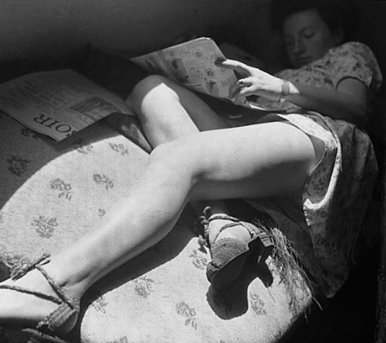 Marcel G. Lefrancq -La sieste, 1942