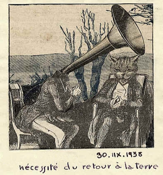 Marcel G. Lefrancq - Nécessité du retour à la terre ,1938