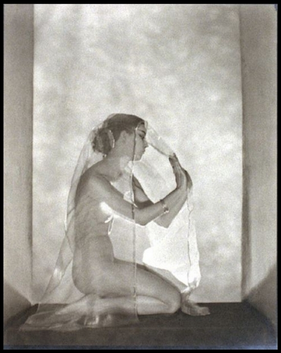 Nickolas Muray -Ann Douglas - Denishawn Dancer,1922.