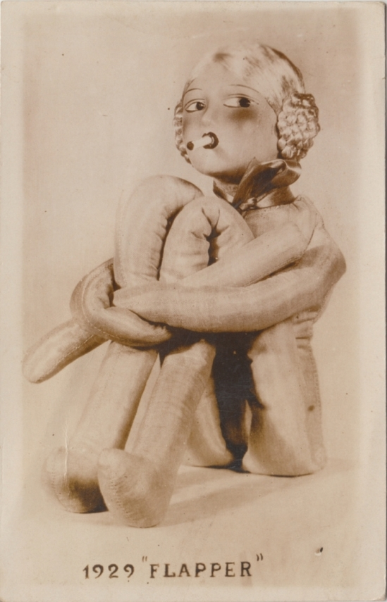 R. Bruhn- Composition flapper Doll  1929