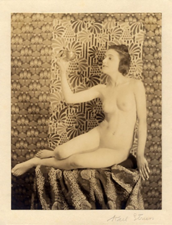 Karl F. Struss - Female Figure, First Series #9, - 1915. From the Series, The Female Figure , 1917 published in Karl Struss. From 48 photographs of the female