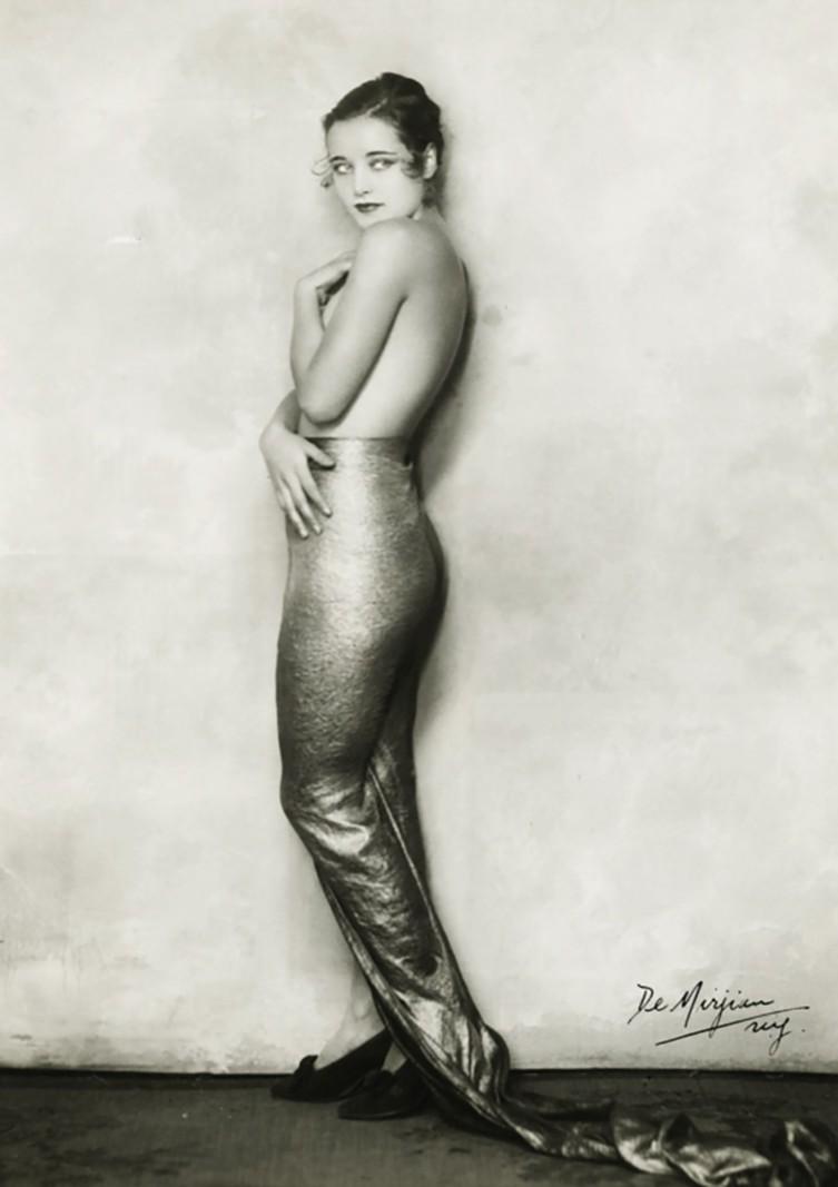 Studio de Mirjian -Photography by Arto de Mirjan (John de Mirjian's brother) - Miss Cornelia Rogers as mermaid from Flying High George White musical c. 1930