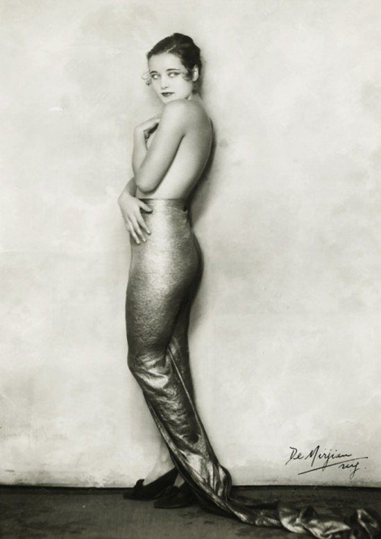 Studio de Mirjian -Photography by Arto de Mirjan (John de Mirjian's brother) - Miss Cornelia Rogers as mermaid from Flying High George White musical c. 1930