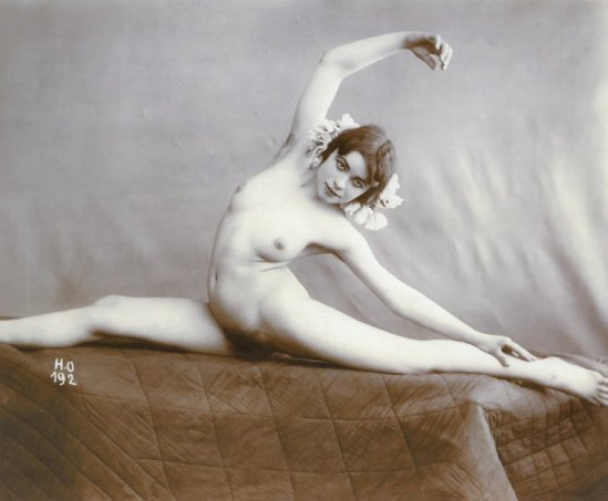 Henri Oltramare - Nude study, 1900 From Erotic Photography by Alexandre Dupuy