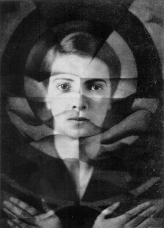 Yva (Else Neuländer)- 1925 self-portrait