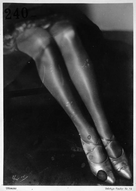 """Yva (Else Neuländer)-  Beine """"Beine"""". 1927-28"""