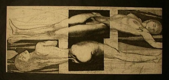 Ernst Fuchs -  Eva Triptych - 1967