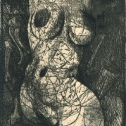 Ernst Fuchs - Hochzeit des Todes - Deadly Vows - Etching for Die Symbolik des Traumes Belser Verlag, Stuttgart; Limited Edition (1968)
