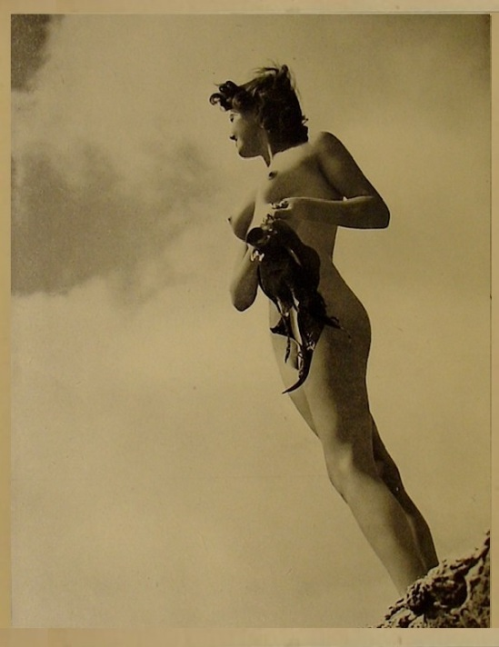 Horace Roye- Nude from the book The English Maid,1939 (4)