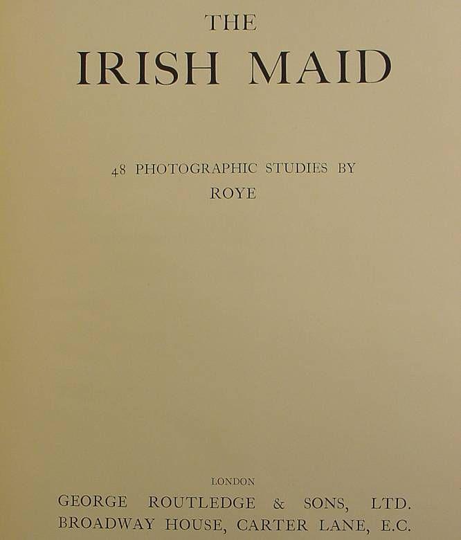 Horace Roye- The Irish Maid,
