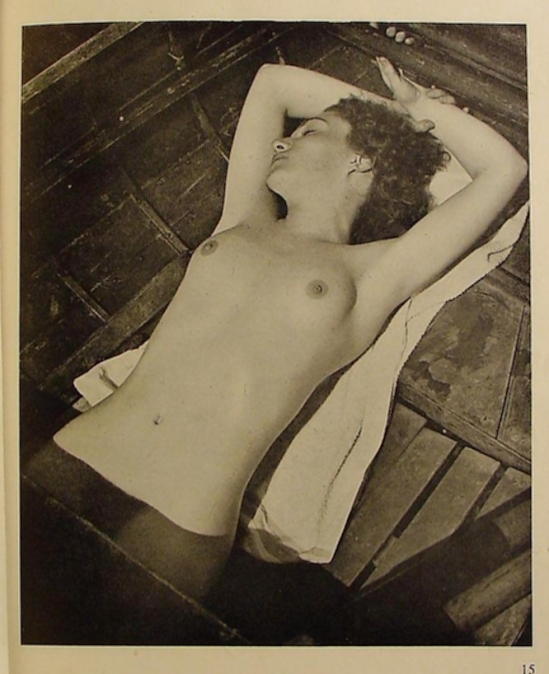 Roye - Nude from the book Welsh Maid, 1940
