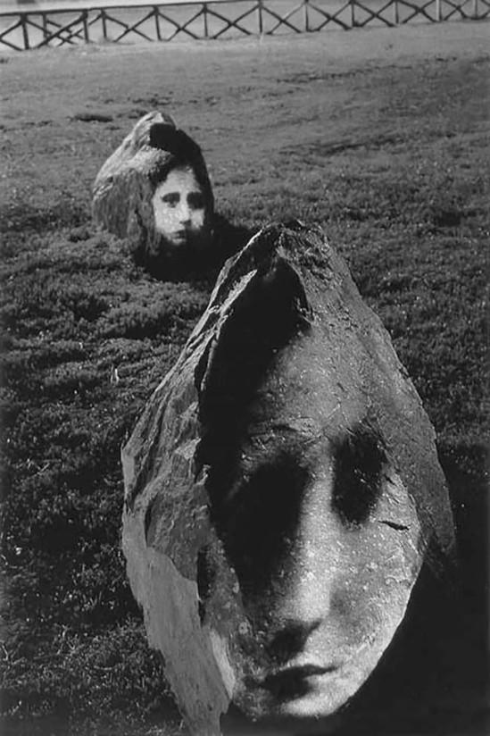 Alain Fleischer- La nuit des visages (ciba chrome) 1995.
