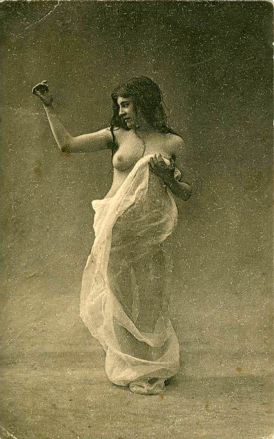 Anonymous. French Risque Postcard, 1910's