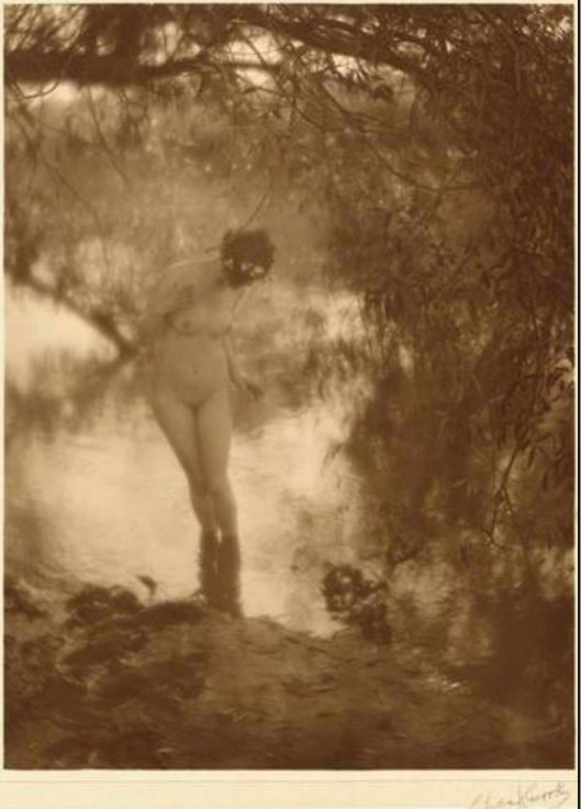 Charles J Cook-Untitled nude, 1910