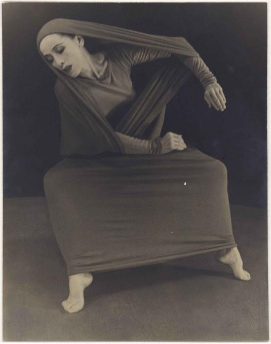 Herta Moselsio Martha Graham in Lamentation, No. 1 coll martha graham