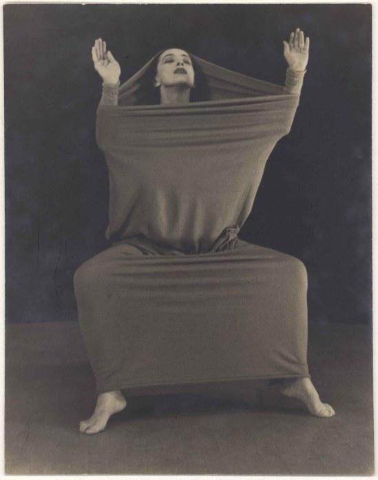 Herta Moselsio Martha Graham in Lamentation, No. 15 coll martha graham
