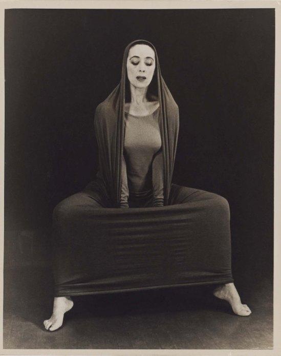 Herta Moselsio Martha Graham in Lamentation, No. 16 coll martha graham