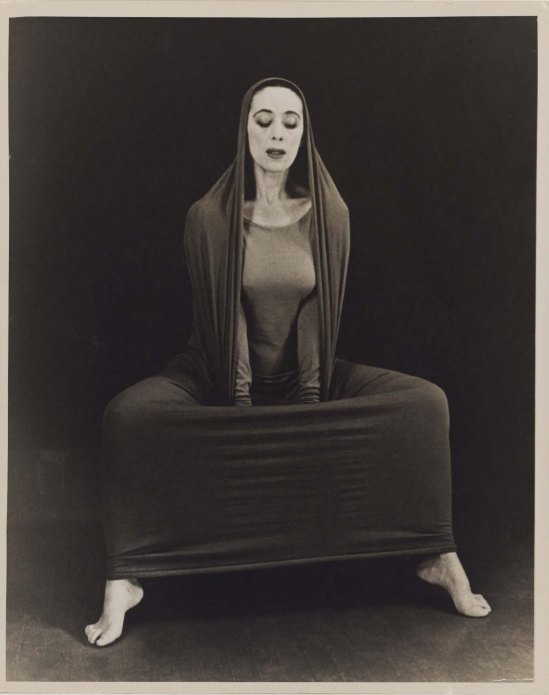 Herta Moselsio Martha Graham in Lamentation, No. 16 coll martha graham
